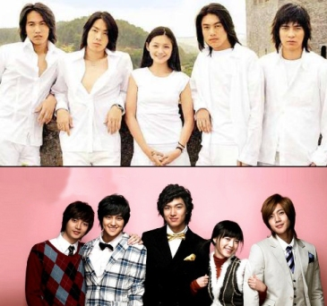 Meteor Garden and Boys Over Flowers