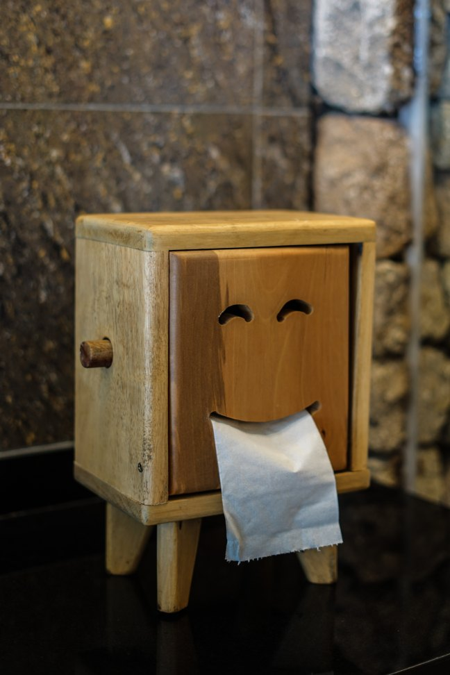 The only happy solution for toilet paper directionality and house guests.
